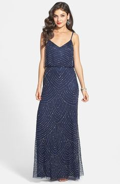 Adrianna Papell Sequin Gown | Nordstrom  $258 - very perfect dress - worth the expense?