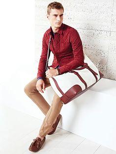 Gucci Cruise 2015 | Men's Fashion | Menswear | Men's Casual Outfit | Moda Masculina | Shop at designerclothingfans.com