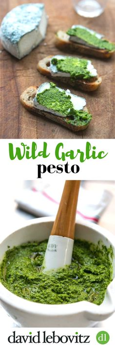 Make a delicious pesto with these garlic scented greens. Great to toss on pasta, smear on crostini for appetizers or with fresh steamed vegetables.