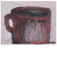Untitled (Cup) Philip Guston: Small Oils on Panel 1969-1973