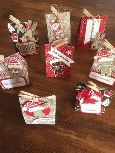 Vera's Paperdesign: Weihnachtstütchen