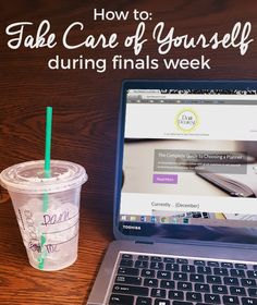 Take care of yourself during finals week
