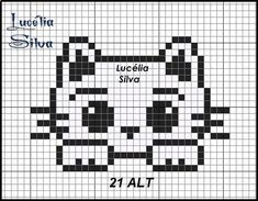 Motiv K Kitten - Breannes Crafting Brand name clothing online deals Brand name clothing is highly re Tiny Cross Stitch, Cat Cross Stitches, Cross Stitch Cards, Cross Stitch Animals, Cross Stitch Designs, Cross Stitching, Cross Stitch Embroidery, Cross Stitch Patterns, Needlepoint Stitches