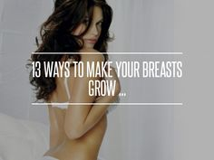 13. Flax Seed - 13 Ways to Make Your #Breasts Grow ... → #Beauty #Creams