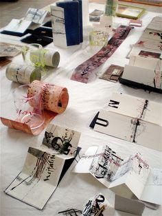 hand made books by stephanie devaux