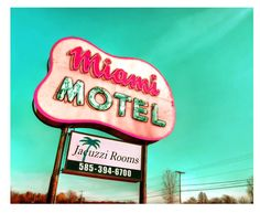 Vintage Steel and Neon Sign, Fort Wayne, Indiana | Forts, Fort worth ...