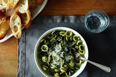 Kale Pesto Orecchiette recipe on Food52