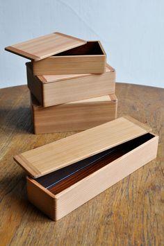 Yu Kawai #boxes #wood