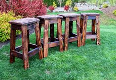 Check out our rustic bar stools selection for the very best in unique or custom, handmade pieces from our shops. Rustic Bar Stools, Farmhouse Stools, Wooden Stools, Leather Dining Chairs, Metal Chairs, Bar Chairs, Swing Chairs, Office Chairs, Vanity Chairs