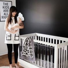 Nursery Decor, Black And White, Modern, Kids, Home Decor, Black White, Children, Homemade Home Decor, Blanco Y Negro