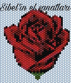 off loom beading stitches Beaded Earrings Patterns, Beading Patterns Free, Seed Bead Patterns, Peyote Patterns, Seed Bead Crafts, Beaded Crafts, Seed Bead Flowers, Beaded Flowers, Beaded Banners