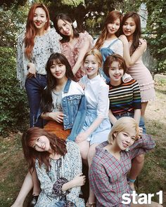 """TWICE for Star1 Magazine (x) """