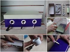 Organizing Cords & Chargers. Get cables under control with Handygirls!