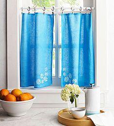 Cafe Curtains -dish towel ideas