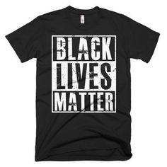 Men's Black Lives Matter T-Shirt