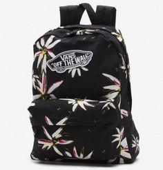Plecak Vans Realm Backpack Black / White 16L