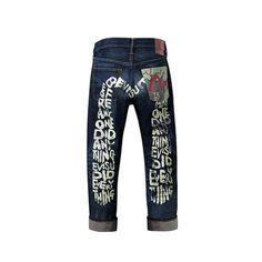 Camo Pocket Daicock Selvedge Jeans