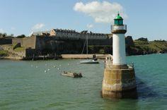 Belle-île en Mer - L'entrée du port