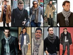 looks com cachecol masculinos