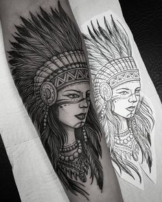 Search inspiration for a Blackwork tattoo. Tattoo Indien, Girl Tattoos, Tatoos, Black Tattoos, Drawing Sketches, Art Drawings, Animation 3d, Native Tattoos, Geniale Tattoos