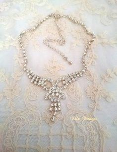 collar-vintage-de stras-de-novia-ceremonia-fiesta
