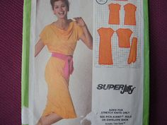 vintage 1970s Simplicity sewing pattern 9348 misses by joy4charity