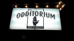 The Odditorium, music venue in West #Asheville