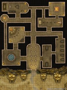 Dnd World Map, Fantasy World Map, Fantasy City, Desert Temple, Desert Map, Pen And Paper Games, Egypt Map, Scale Map, Rpg Map