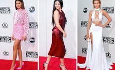 Zendaya, Selena Gomez, Gigi Hadid and more at the American Music Awards on Sunday night in Los Angeles. Hip Hop Songs, Rap Songs, Nicki Minaj Taylor Swift, American Music Awards 2015, Soul Songs, Nice Dresses, Formal Dresses, Christian Songs, Zendaya