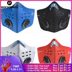 Masks 1pcs Face Mask Activated Carbon Filter Insert Antidust Pollution Cotton Mouth Mask Pm2.5 Mask For Exhaust Gas,pollen Allergy