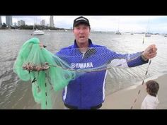 How to use a casting net