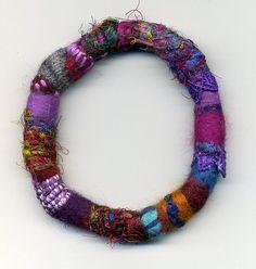 fall fiber bracelet