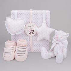 Set Regalo Osito BebeDeParis. Un bonito y coqueto regalo de nacimiento para el bebé. #regalos #babygifts #bebés