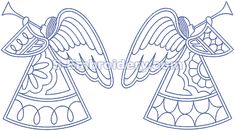 Angels patterns for embroidery