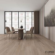 """""""the ability to simplify without loosing any quality"""" Feast your eyes on our COMO Collection whether your adding a pop of color to your home space, these decors bring out neutrality in any room setting. Solid Wood Flooring, Laminate Flooring, Vinyl Flooring, Hardwood Floors, Carpet World, Luxury Vinyl, Engineered Wood, Color Pop, Blinds"""