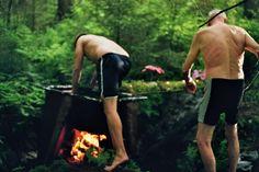 Cauldron Claw - Client - A flaming bath for an old man - Örnsköldsvik, Sweden