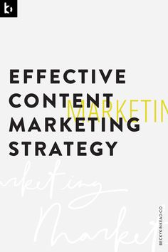 Create an effective content marketing strategy for your online business. Click to read more or pin and save for later!