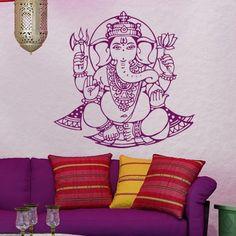 Wall Decal Art Decor Decals Sticker Elephant Ganesh Buddhism India Indian Namaste Buddha Om Yoga Success God Lord (M90) DecorWallDecals http://www.amazon.com/dp/B00FVSFGFK/ref=cm_sw_r_pi_dp_GmOXub15KSGHT