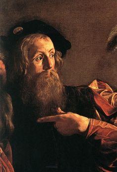 Caravaggio - de roeping van Mattheus
