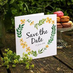 #SavetheDate 💛 #Flowers #Design #Hochzeitspapeterie #Hochzeitseinladung #Hochzeit #Macarons #Blumen #Sommer #Grafikdesign #Verlobung #Wedding #Weddingplanner #Hochzeitsinspiration