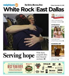 """11/23 Cover Story: The White Rock Center of Hope is """"a bridge over a pothole in life,"""" according to executive director Ted Beechler."""