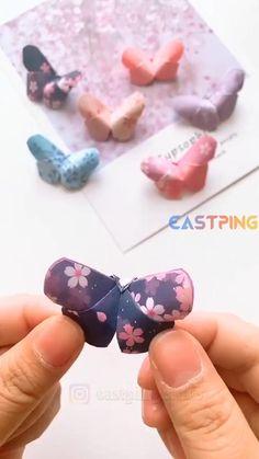 Creative Crafts, Easy Crafts, Diy Crafts Hacks, Diy Crafts For Gifts, Paper Crafts For Kids, Diy Home Crafts, Diy For Kids, Sewing Crafts, Origami Easy