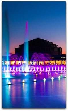 Wroclaw - Centennial Hall and the Multimedia Fountain