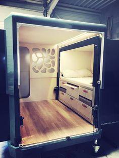 A peek inside the Tipoon camper