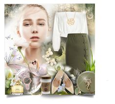 """""""Willow Magic"""" by angelflair ❤ liked on Polyvore featuring WAIWAI, Manolo Blahnik, BP. and Lord & Taylor"""