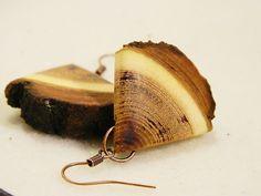 "Wooden earrings & necklace "" Sweet candy"" by balintARTline on Etsy Wooden Earrings, Wooden Jewelry, Unique Jewelry, Cuff Bracelets, Candy, Handmade Gifts, Sweet, Accessories, Etsy"