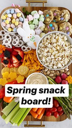 Easter Snacks, Easter Appetizers, Easter Recipes, Appetizer Recipes, Holiday Recipes, Snack Recipes, Easter Food, Dip Recipes, Brunch Recipes