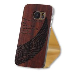Samsung Galaxy S7 Angel Wings Wood Back Case   http://www.flagshipsgear.com #S7 #iphone #iphone6case #iphone6 #iphone7Plus #S7edge #iphone7 #galaxys7edge #galaxys7 #samsung