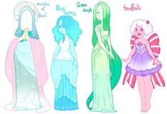 Gemsona Adopts [Taaffeite is Still Open! Steven Universe Oc, Steven Universe Characters, Universe Art, Comic Character, Character Personality, Anime Demon, Character Design Inspiration, Fantasy, Drawing Reference