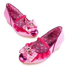 Disney Minnie Mouse Shoes for Girls Minnie Mouse Pink, Mickey Mouse And Friends, Polka Dot Shoes, Pink Polka Dots, Disney Halloween Parties, Halloween Party, Disney Princess Costumes, Girls Dress Shoes, Disney Merchandise